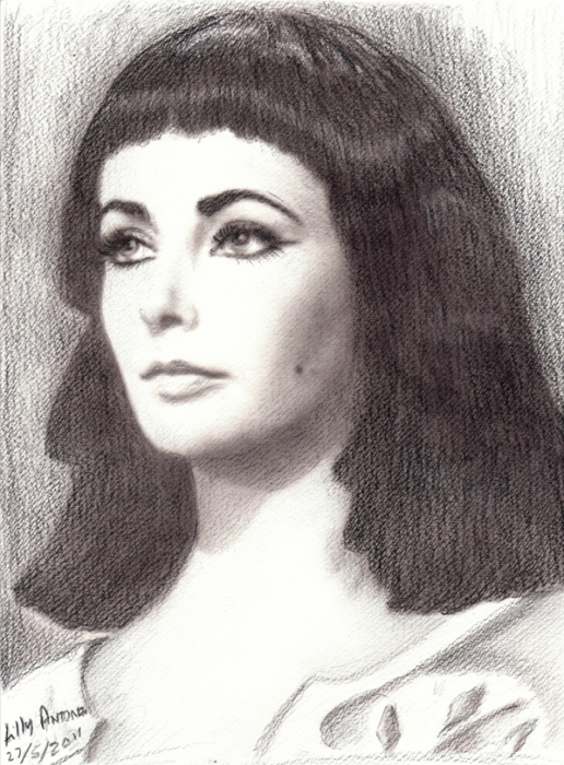 Elizabeth Taylor by Artemesia
